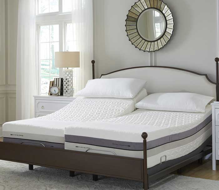 Consider a fitted bed frame