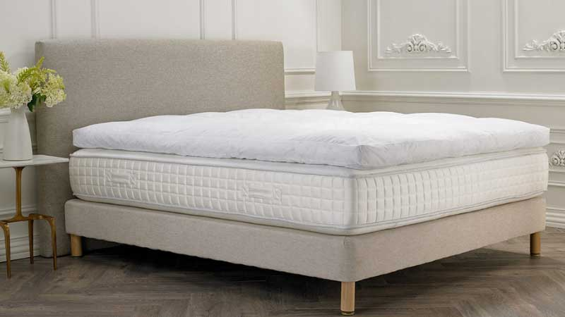 Featherbed topper vs memory foam