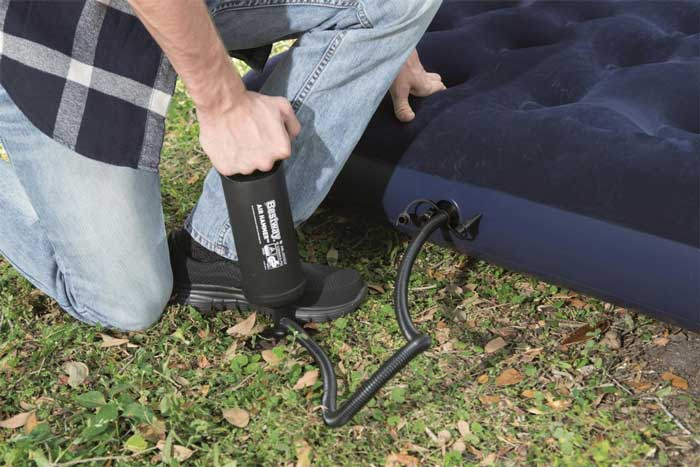 Inflating Your Air Mattress Without Electricity