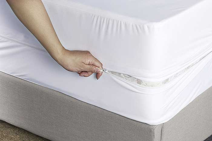 Use a protective mattress cover