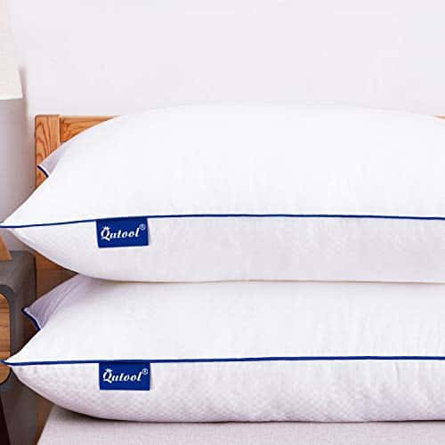 Bed Pillows for Sleeping Set of 2 Hypoallergenic Plush Pillows