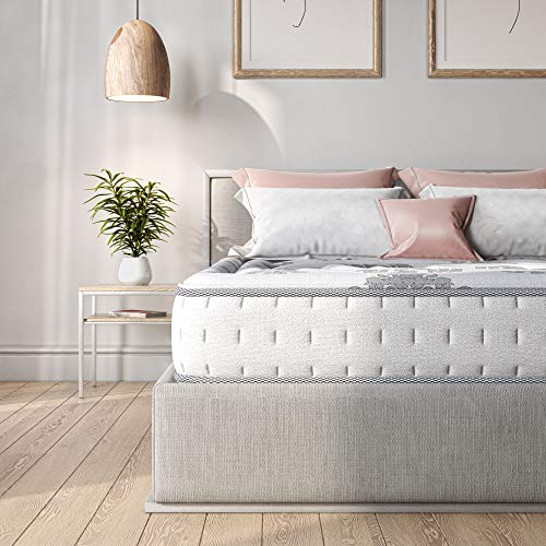 Classic Brands Decker Memory Foam and Innerspring Hybrid Mattress