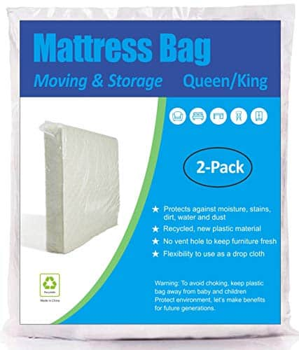Comfort Home 2 Pack Mattress Bag for Moving