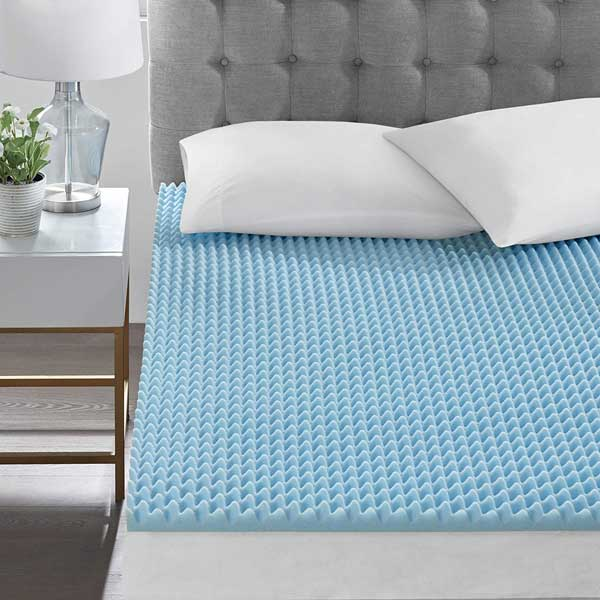 How long do egg crate mattress toppers last