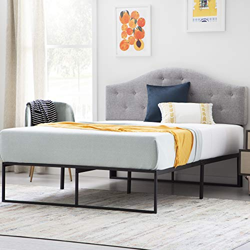 LINENSPA Contemporary Platform Bed Frame