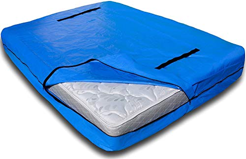 Nordic Elk Mattress Bag with 8 Handles for Moving