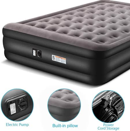 Zoetime Upgraded King Size Double Air Mattress