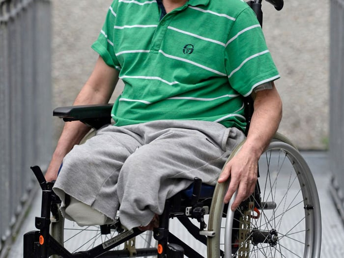 A Wheelchair For Amputees