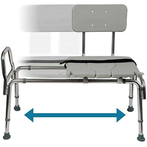 Duro-Med Tub Transfer Bench and Sliding Shower Chair