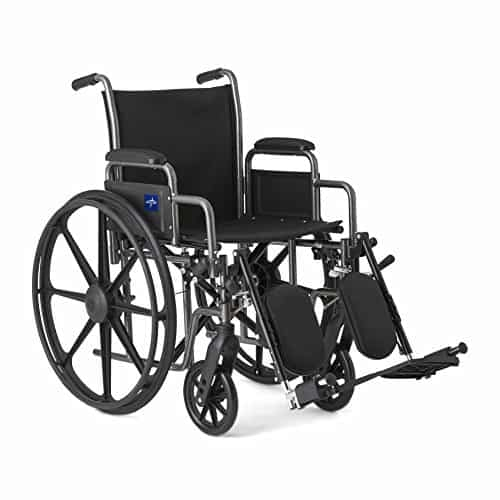 Medline Comfort Driven Wheelchair with Removable Desk