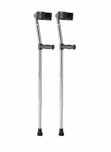 Medline MDS805162 Aluminum Forearm Crutches