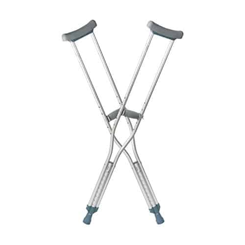 DMI Crutches With Handgrips And Accessories