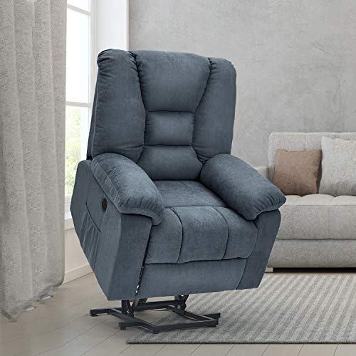 Esright Power Lift Chair With Heated Vibration Massage Sofa