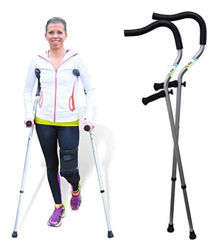 In-Motion Pro Foldable Crutches
