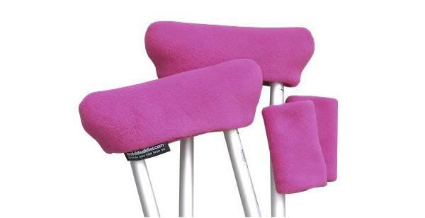 Style of the crutch pads